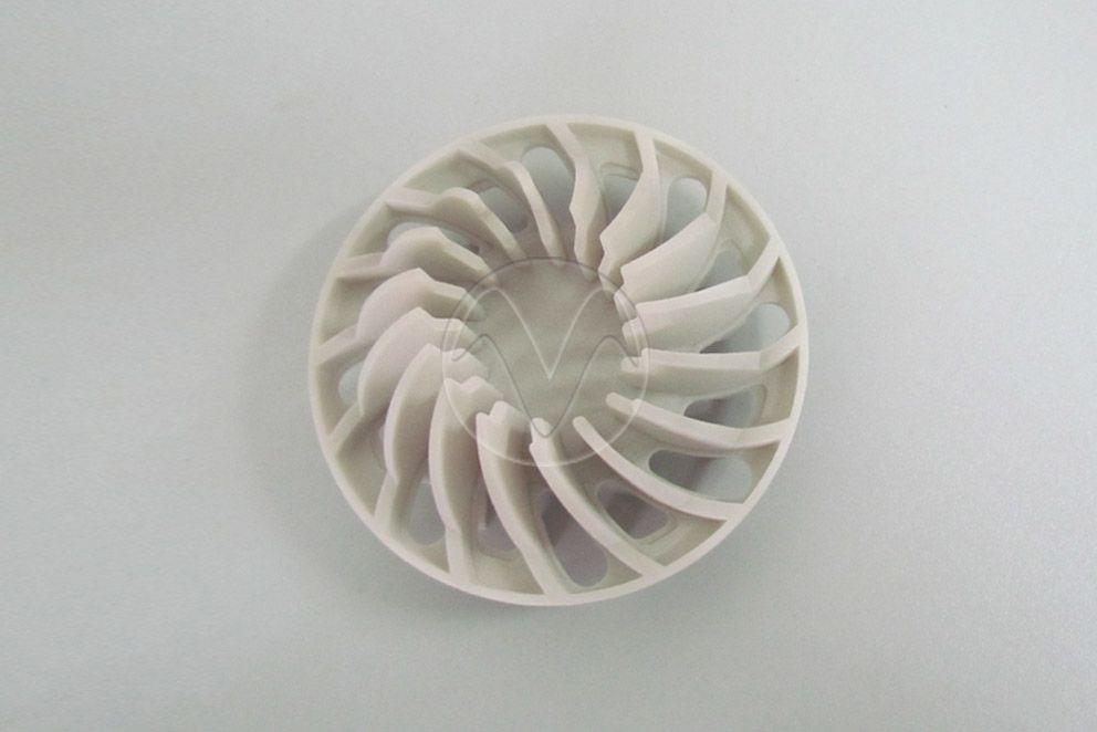 Metal material with 3D print