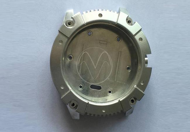 Aluminum watch mock-up