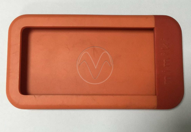 Silicone rubber with vacuum casting