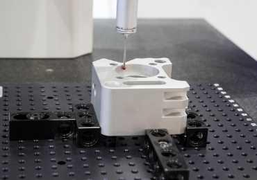 Aluminum die casting samples