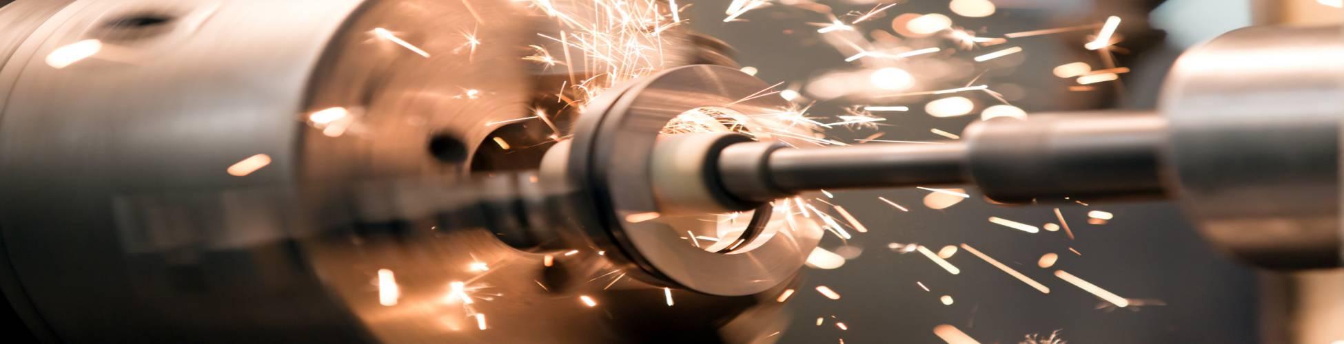 CNC Milling Parts Banner
