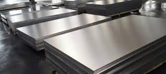 Plates of aluminum 6061