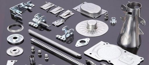 different parts of CNC aluminium machine