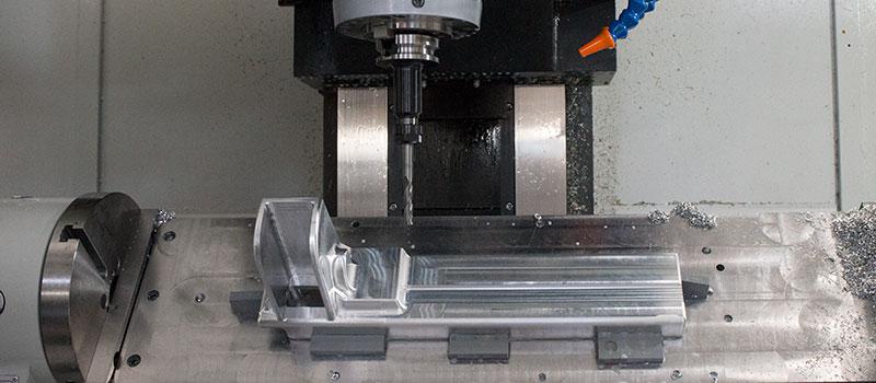 CNC Aluminum Machine