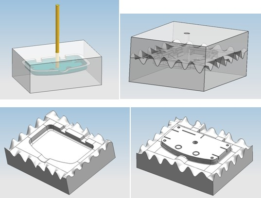 The Molding Process in Vacuum Casting