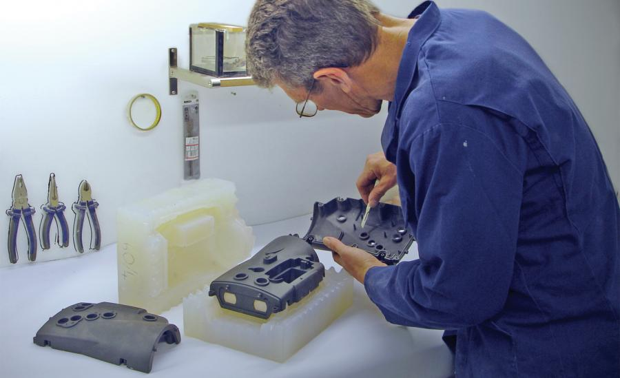 Vacuum casting for functional models