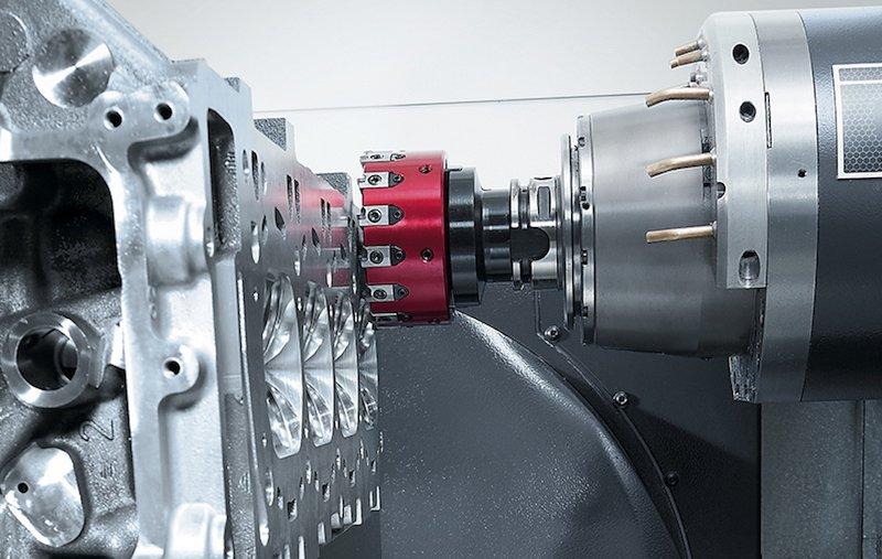 Figure 10 - Cutting of CNC Car Parts
