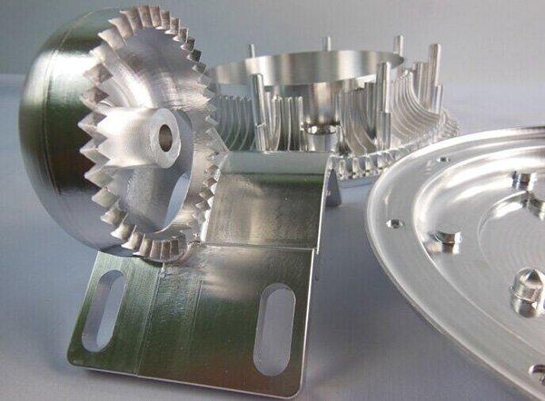 Figure 12 - CNC Aluminum Machining