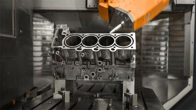 Figure 6 - CNC Car Parts Production