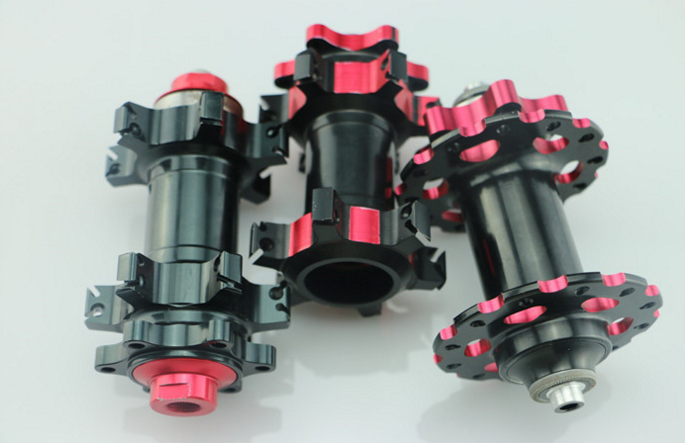 Figure 6 - CNC Machined Bike Parts